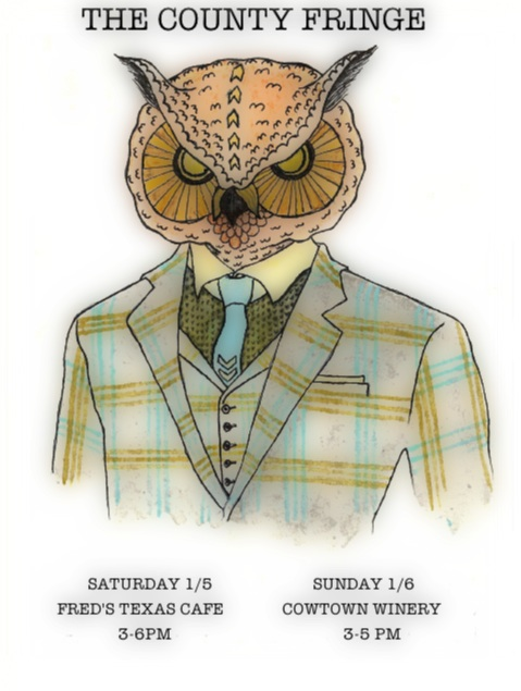 owl suit poster